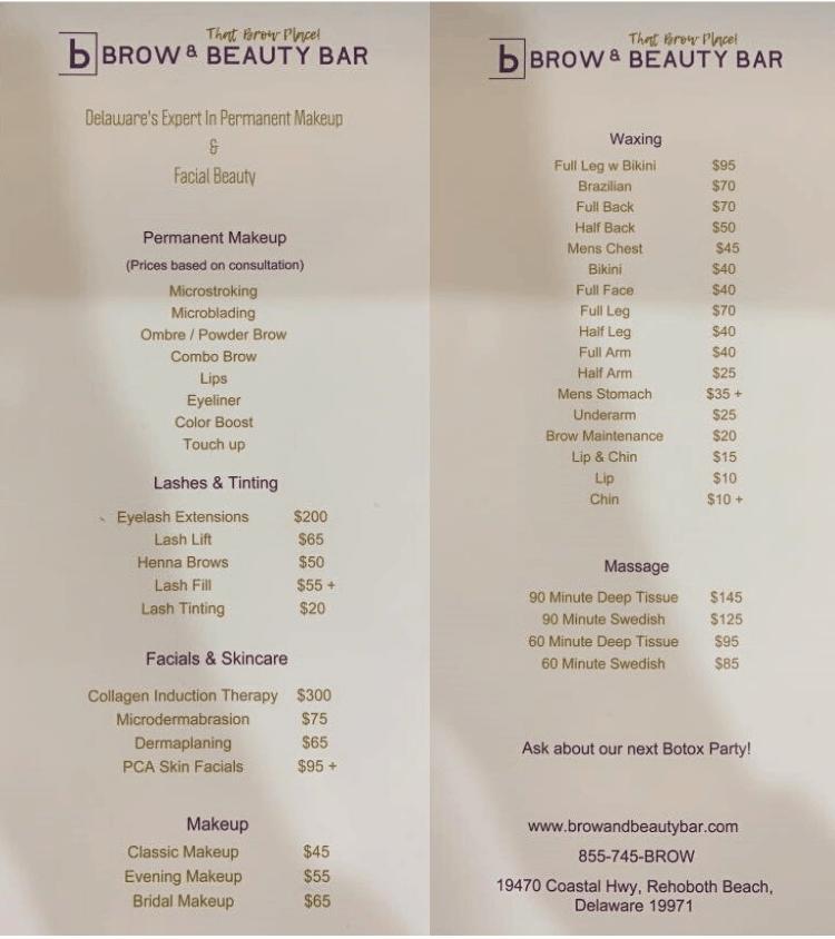 Permanent Makeup Costs Brow Beauty Bar
