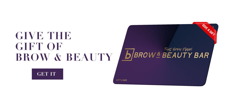 Brow & Beauty Bar Gift Card