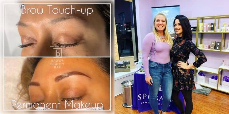 Microblading eyebrows expert team